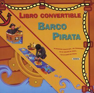 BARCO PIRATA LIBRO CONVERTIBLE
