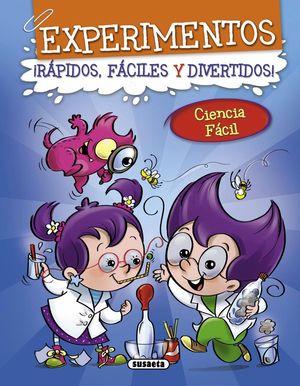 EXPERIMENTOS 1 (AZUL) RAPIDOS, FACILES Y DIVERTIDOS