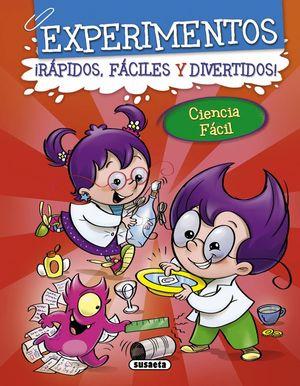 EXPERIMENTOS 2 (ROJO) RAPIDOS, FACILES Y DIVERTIDOS