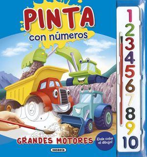 PINTA CON NUMEROS GRANDES MOTORES
