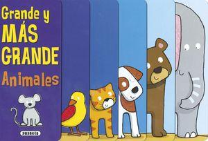 GRANDE Y MAS GRANDE (ANIMALES)