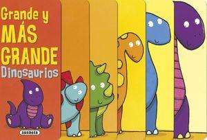 GRANDE Y MAS GRANDE (DINOSAURIOS)