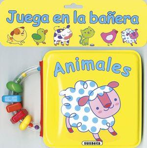 JUEGA EN LA BAÑERA ANIMALES