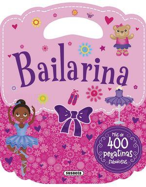 BAILARINA MI BOLSO DE PEGATINAS