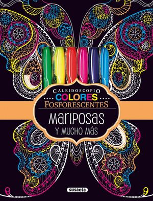 MARIPOSAS Y MUCHO MAS (CAJA CON COLORES + LAMINAS)