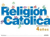 RELIGIÓN CATÓLICA 4 AÑOS.