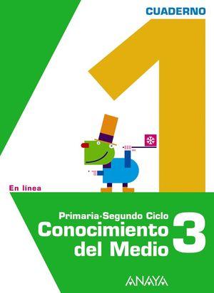 CONOCIMIENTO DEL MEDIO 3. CUADERNO 1.