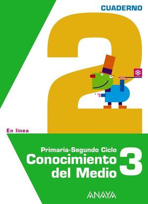 CONOCIMIENTO DEL MEDIO 3. CUADERNO 2.