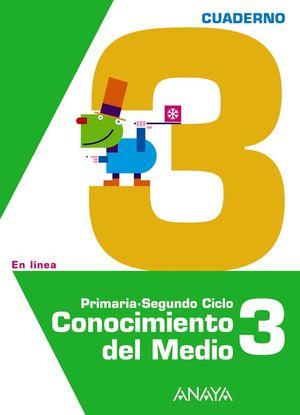 CONOCIMIENTO DEL MEDIO 3. CUADERNO 3.