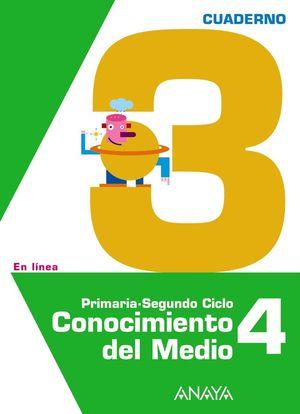 CONOCIMIENTO DEL MEDIO 4. CUADERNO 3.