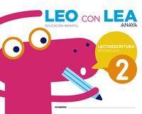 LEO CON LEA 2. MAYÚSCULAS.