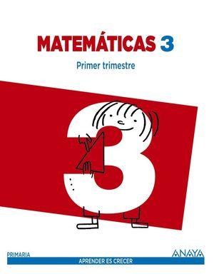 MATEMÁTICAS 3. ED. MEC