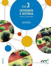 GEOGRAFIA E HISTORIA 3ºESO (COLEGIOS BILINGUES)