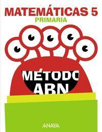 MATEMÁTICAS 5. MÉTODO ABN.
