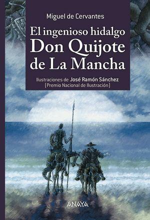 EL INGENIOSO HIDALGO DON QUIJOTE DE LA MANCHA (ILUSTRADO)
