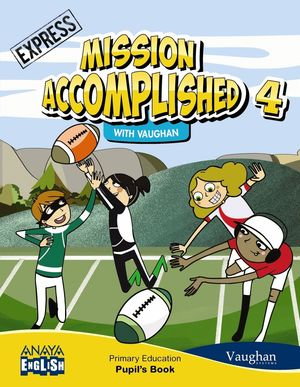 MISSION ACCOMPLISHED 4 EP EXPRESS PUPILS BOOK