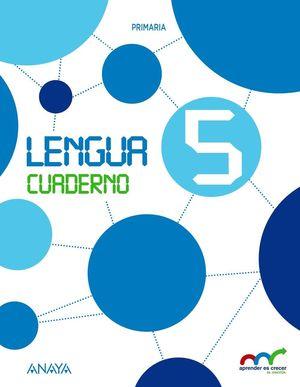 LENGUA 5. CUADERNO ANDALUCIA 2015