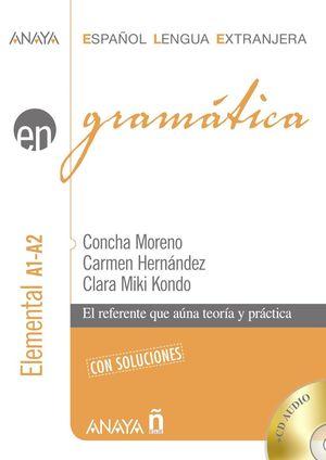 GRAMATICA NIVEL ELEMENTAL A1-A2 (CON SOLUCIONES) (+ CD)