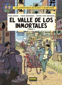 BLAKE Y MORTIMER 25. EL VALLE DE LOS INMORTALES. TOMO 1