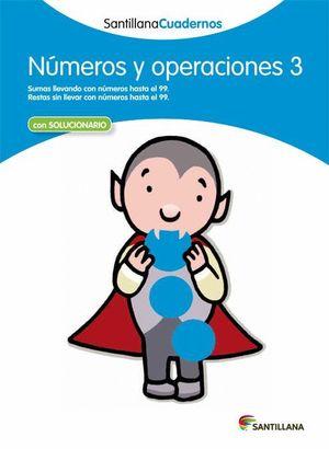 NUMEROS Y OPERACIONES 3 CON SOLUCIONES 2012