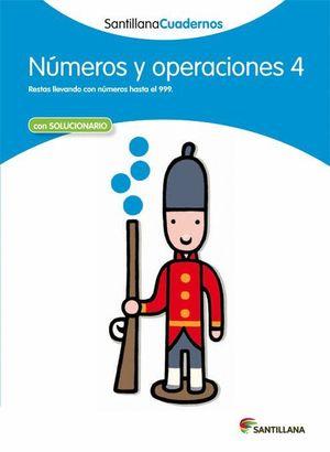 NUMEROS Y OPERACIONES 4 CON SOLUCIONES 2012
