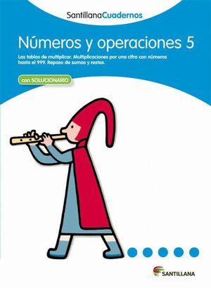 NUMEROS Y OPERACIONES 5 CON SOLUCIONES 2012