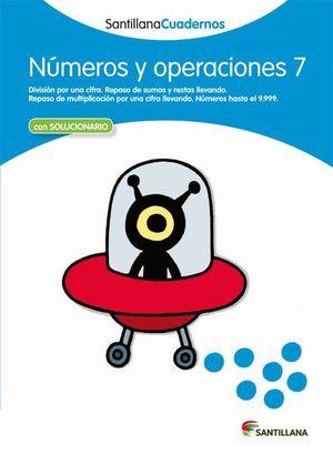 NUMEROS Y OPERACIONES 7 CON SOLUCIONES 2012
