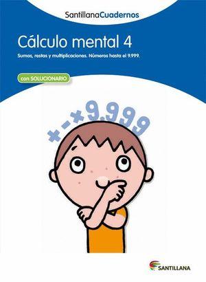 CALCULO MENTAL 4 CON SOLUCIONES 2012