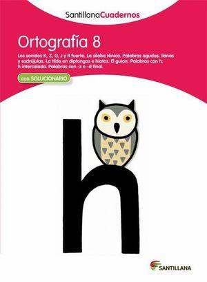 ORTOGRAFIA 8 CON SOLUCIONES 2012