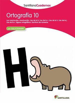ORTOGRAFIA 10 CON SOLUCIONES 2012