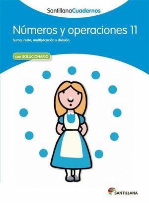 NUMEROS Y OPERACIONES 11 CVON SOLUCIONES 2012