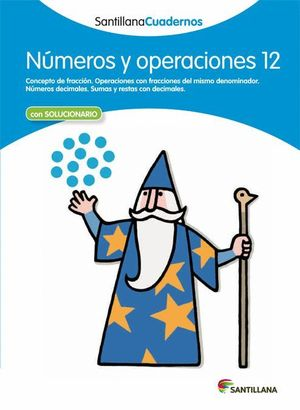NUMEROS Y OPERACIONES 12 CON SOLUCIONES 2012