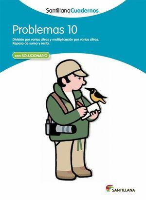PROBLEMAS 10 CON SOLUCIONES 2012
