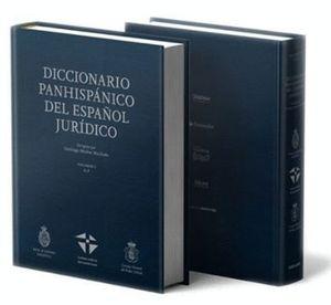 DICCIONARIO PANHISPANICO JURIDICO RAE 2TOMOS
