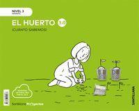 CUANTO SABEMOS NIVEL 3 EL HUERTO (2019 5 AÑOS)