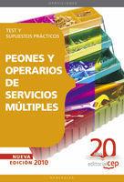 PEONES Y OPERARIOS DE SERVICIOS MULTIPLES TEST Y SUPUESTOS 2010