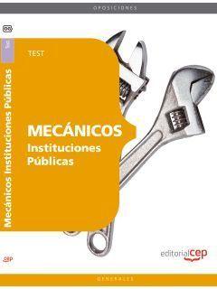 MECÁNICOS INSTITUCIONES PÚBLICAS. TEST