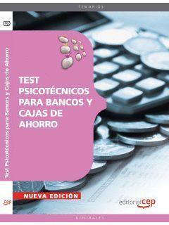 TEST PSICOTÉCNICOS PARA BANCOS Y CAJAS DE AHORRO