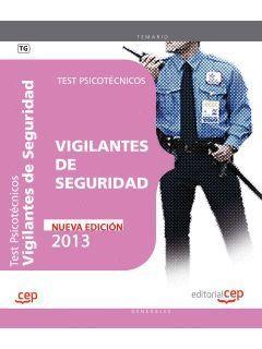 VIGILANTES DE SEGURIDAD TEST PSICOTECNICOS