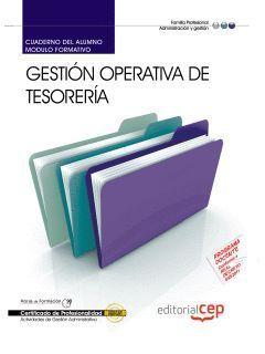 CUADERNO DEL ALUMNO GESTION OPERATIVA DE TESORERIA. CERTIFICADOS