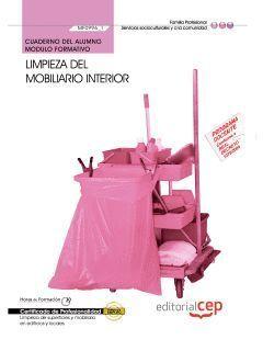 LIMPIEZA DEL MOBILIARIO INTERIOR CUADERNO DEL ALUMNO