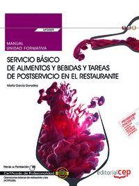 MANUAL. SERVICIO BASICO DE ALIMENTOS Y BEBIDAS Y T