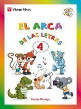 EL ARCA DE LAS LETRAS. LETRAS 4 (C,Q,K,Z,CH,R (RR)