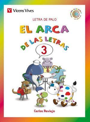 EL ARCA DE LAS LETRAS 3. LETRA DE PALO N/C