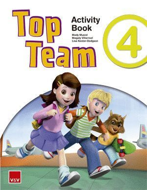 TOP TEAM 4 ACTIVITY BOOK +  CD STORIES AND SONGS