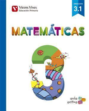 MATEMATICAS 3 (3.1-3.2-3.3) AULA ACTIVA ANDALUCIA