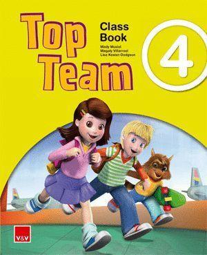 TOP TEAM 4 CLASS BOOK ANDALUCIA