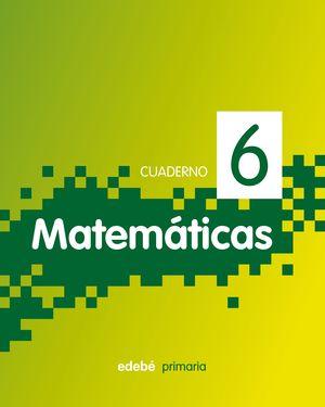 CUADERNO 6. MATEMATICAS PIXEL 2ºE.P. 2011