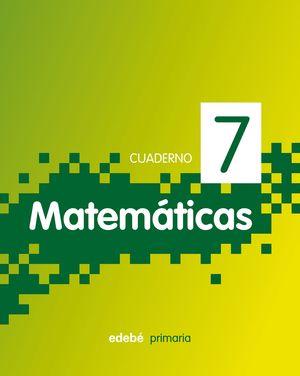 CUADERNO MATEMATICAS 7 PIXEL 3ºEP 2011