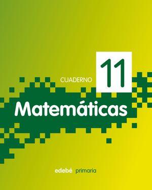 CUADERNO  MATEMATICAS 11 PIXEL 2011